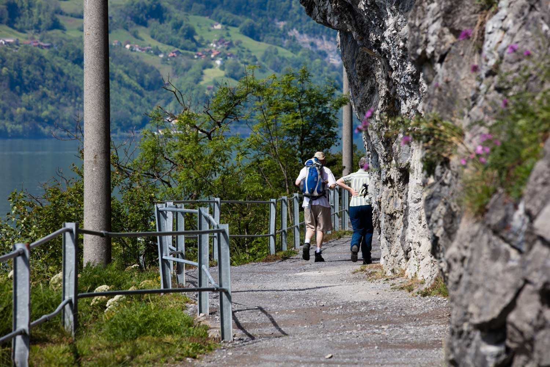 Fussweg Walenstadt-Quinten