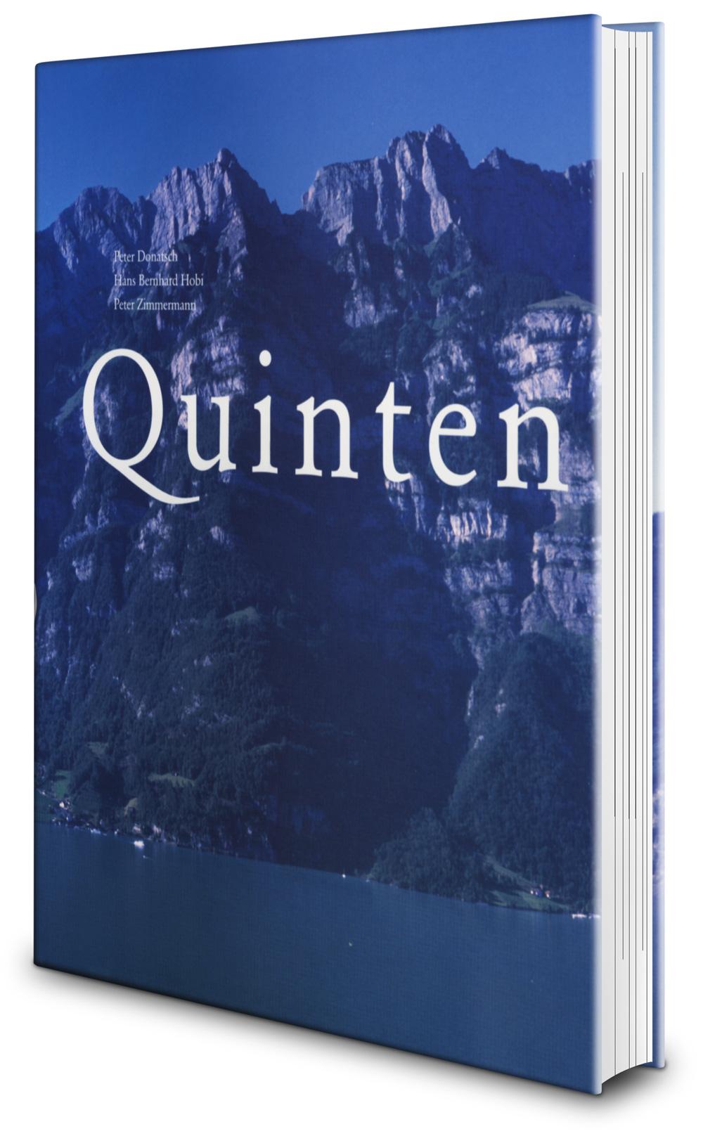 Buch «Quinten – Landschaft und Leute»